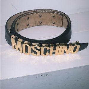MOSCHINO BELT (fairly new)